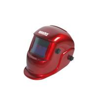 Masca de sudura Hecht 900204 Automata rosie cu indicator pentru baterie descarcata