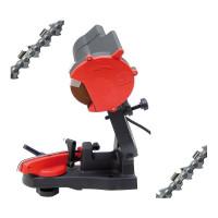 Dispozitiv-aparat electric, pentru ascutit lanturi drujbe si motoferastraie