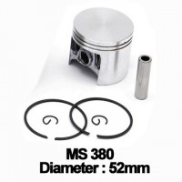 Piston complet Drujba Stihl: MS 380, 381