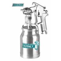 Pistol de vopsit TOTAL-  1.8mm - 1000ml (Industrial)