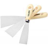 Set de 3 spacluri pentru zugravi 30-50-80 mm