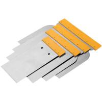 Set de 4 spacluri pentru pereti 50-80-100-120 mm