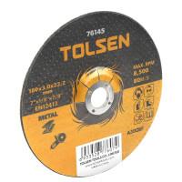 Disc de taiere cu centru coborat (metal) 125x3x16 mm