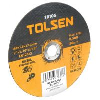 Disc plat de taiere (metal si otel inoxidabil) 180x1.6x16 mm