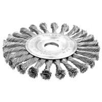Perie abraziva circulara din sarma 180 mm (Industrial)