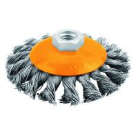 Perie tesita din sarma rasucita 100 mm (Industrial)