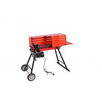 Masina electrica de crapat/taiat, Despicator lemne/busteni (7 tone forta) cu suport - Micul Fermier