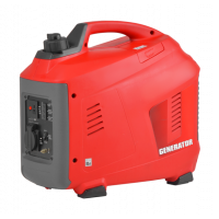 Generator de curent 1.7 CP, 1000 W, (Benzina) , 1 priza 12V + 1 priza 220 V - Hecht GG1000i