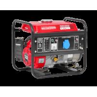 Generator de curent 2.4 CP, 1100 W, 2.4 CP, (Benzina), AVR, 1 priza 12V+1 priza 220 V - Hecht GG1300