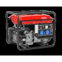 Generator de curent 7 CP, 3000 W, 7 CP (Benzina), AVR, 1priza 12V + 2 prize 220 V - Hecht 3300