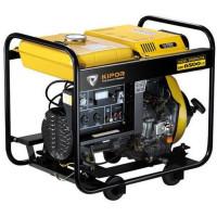 Generator curent electric Kipor KDE 6500 X3,  6 kVA, (Diesel), AVR, 2 prize mono + 1 trifazata