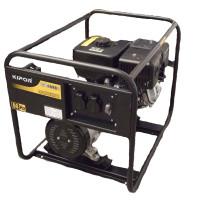 Generator curent electric Kipor KGE 4000 C, 3.3 kVA, (Benzina), AVR, 2 prize monofoazate 16A