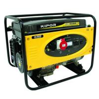 Generator curent electric Kipor KGE 6500 X3, 6 kVA, (Benzina) AVR, 2 prize mono + 1 trifazata