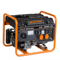 Generator curent electric pe benzina Stager GG 2800, 5.5 CP,  2.2 kW, (Benzina), AVR