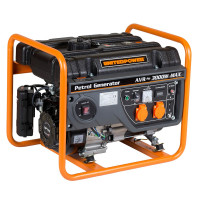 Generator curent electric pe benzina Stager GG 3400, 7 CP, 3 kW, (Benzina), AVR