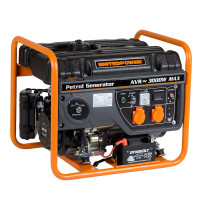 Generator curent electric pe benzina Stager GG 3400E, 7 CP, 3 kW, (Benzina), AVR