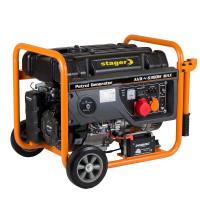 Generator curent electric pe benzina Stager GG 7300-3EW, 6.3 kW, (Benzina) AVR