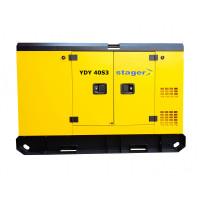 Generator insonorizat Stager YDY40S3, silent 1500rpm, diesel, trifazat