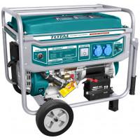 Generator electric - Total, pe benzina - 5500W - Model 2020