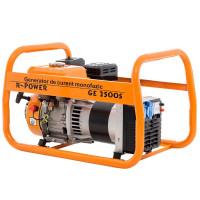 Generator Ruris  R-Power GE 2500S 7 CP  2 prize + voltmetru analogic